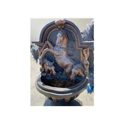 20GFL-12 HORSE WALL FOUNTAIN