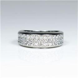 20CAI-9 DIAMOND PLATINUM RING