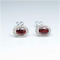 20CAI-11 RUBY & DIAMOND RING