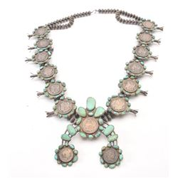 20FD-500 INDIAN TOURQ. NECKLACE