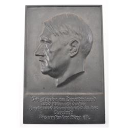 20FC-34 3RD REICH WALL PLAQUE