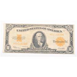 20CE-23 1922 GOLD BACK $10