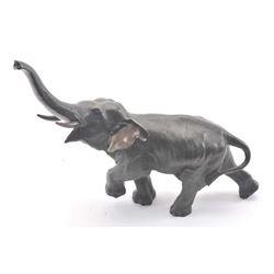 19OB-4 BRONZE OF ELEPHANT