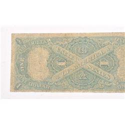 1876 COLUMBIAN BANK NOTE