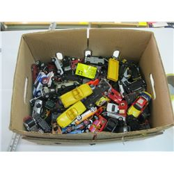 LARGE BOX OF ASSORTED SMALL CARS