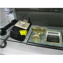 WALL MOUNT DIAL TELEPHONE