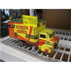 SMALL EXPRESS DELIVERY SERVICE TRUCK BY WYANDOTTE TOYS
