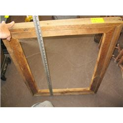 HEAVY RUSTIC PICTURE FRAME