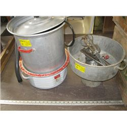 A LOT OF MISC MIXER, SIFTER, ELECTROMITE