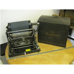 ANTIQUE GESTETNER COPYING MACHINE