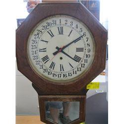 WALL CLOCK - ARTHUR PEQUEGNAT CLOCK COMPANY
