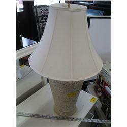 WHITE BASED TABLE LAMP