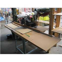 DELTA RADIAL ARM SAW ON STAND