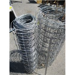 A LOT OF CAGE WIRE