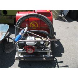 MULTI PURPOSE HONDA 3.5 HP WATER PUMP WITH HOSE, TANK &