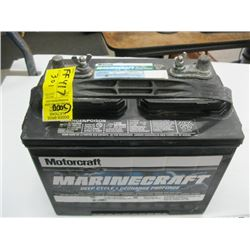 MOTOCRAFT MARINECRAFT DEEP CYCLE BATTERY IN GOOD CONDITION