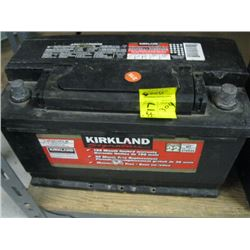 KIRKLAND BATTERY IN GOOD CONDITION