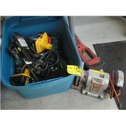 BIN OF ASSORTED 'AS IS' TOOLS