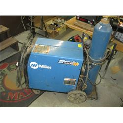 MILLER MILLERMATIC 212 WIRE FEED WELDER WITH LEASED TANK