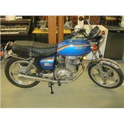 1978 MODEL- HONDA 400 TWIN HONDAMATIC COLLECTORS BIKE - ORIGINAL CONDITION (COULDN'T GET STARTED) -