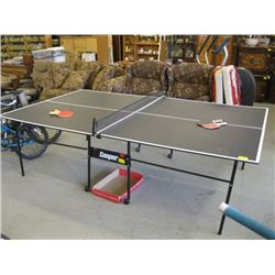 FOLDING COOPER PING PONG TABLE WITH ACCESSORIES