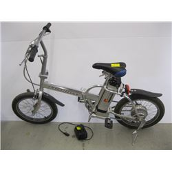 FUSHIDA ELECTRIC FOLDING BIKE WITH BATTERY & CHARGER (IN GOOD RUNNING CONDITION)