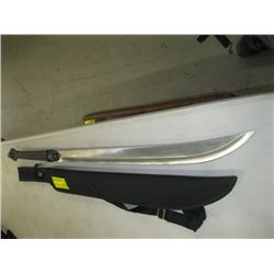 440 STAINLESS DECORATIVE SWORD WITH SHEATH