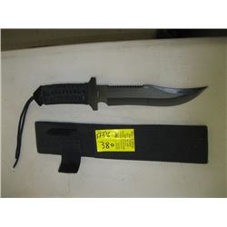 ROPE HANDLED KNIFE WITH SHEATH