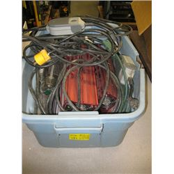 BOX WITH 2 TIMERS, 3 BALLASTS, 2 BULBS