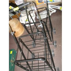2 GROCERY CARTS