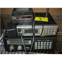 REALISTIC 200 CHANNEL SCANNER, RADIO SHACK PRO 2051 VEHICLE SCANNER