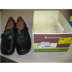 NEW PR OF NATURALIZER BLACK SHOES SIZE 10