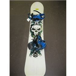 ATOMIC SNOWBOARD WITH RIDE BINDINGS