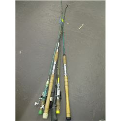 BUNDLE OF ASSORTED FISHING RODS