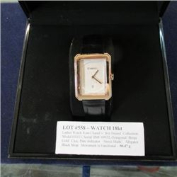 Watch 18kt - Ladies Watch from Chanel's 'Boy Friend' Collection, Model H4313, Serial DMF 69932, Octa