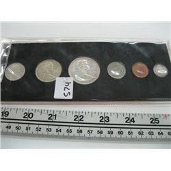 1967 CDN COIN SET