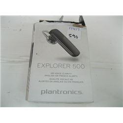 NEW EXPLORER 500 HD VOICE CLARIDY BY PLATRONICS (BLUETOOTH HEADSET)
