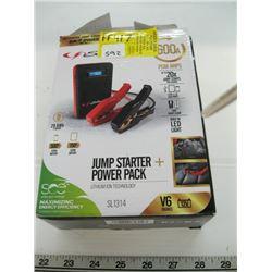 600 AMP JUMPSTARTER POWER PACK