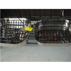LARGE & SMALL ROASTING PANS