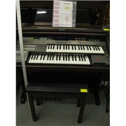 TECHNICS ELECTRONIC ORGAN WITH BENCH