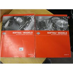 2007 & 2005 HARLEY SOFTAIL MODEL MANUALS