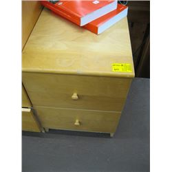 2 DRAWER MATCHING NIGHT STAND