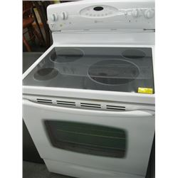MAYTAG ELECTRIC STOVE - WHITE
