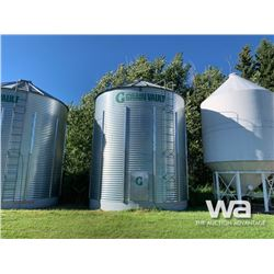 GRAIN VAULT 5 RING X 19 FT. GRAIN BIN