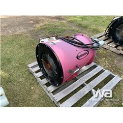 FLAMAN 3 HP INLINE AREATION FAN