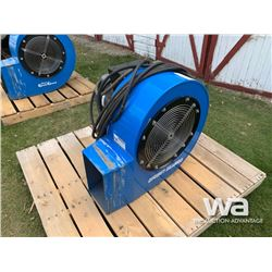 GRAIN GUARD 5 HP AREATION FAN