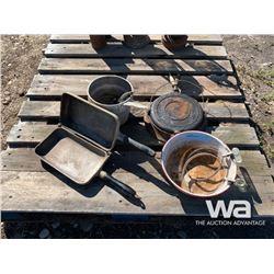 WAFFLE PRESS, FLIP PAN