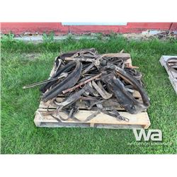 PALLET OF HARNESS & COLLARS