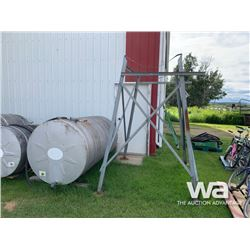 500 GAL. FUEL TANK & STAND