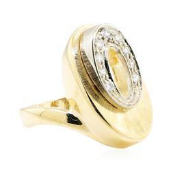 14KT Yellow Gold 0.30 ctw Diamond Ring